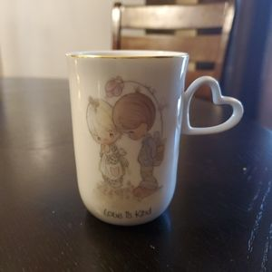 "1984 Precious Moments Coffee Cup ""Love is Kind"""